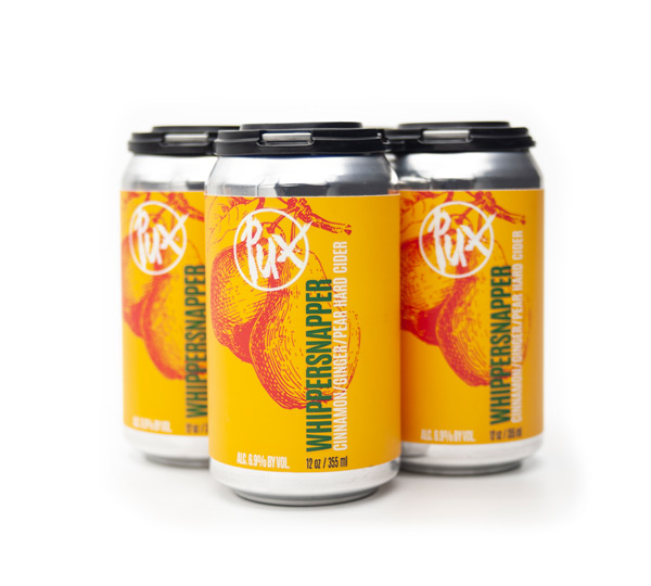 Pux Whippersnapper cider 4-pack